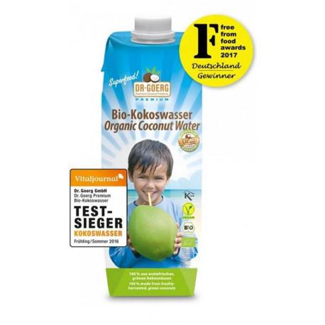 Dr. Goerg kokosová voda, Fair Trade 1000 ml