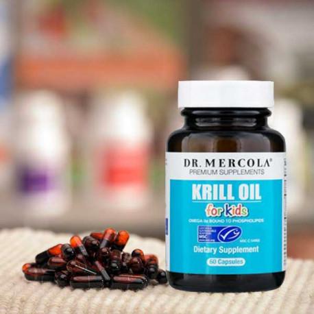 Kril olej pro děti 60 kapslí