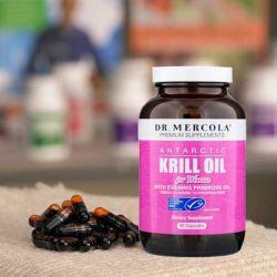 Kril olej s pupalkou pro ženy, 90 kapslí