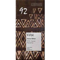 Vivani Bio hořká čokoláda 92 % s kokosovým cukrem 80g