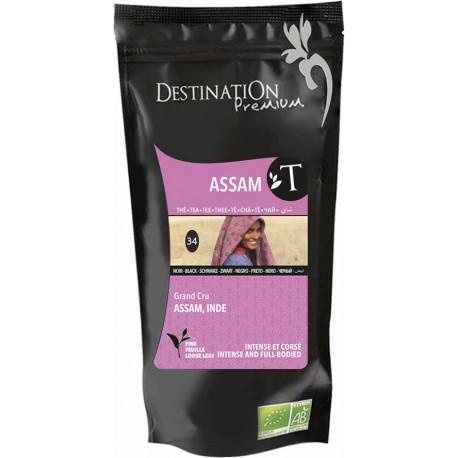 Bio černý čaj Assam 100 g