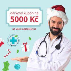 Dárkový kupón v hodnotě 5000 CZK