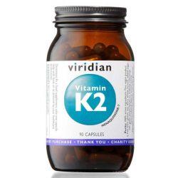 Vitamin K2 90 kapslí, Viridian