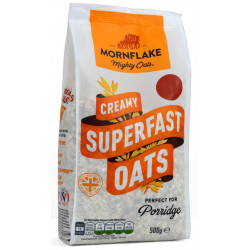 Mornflake, Creamy Superfast Oats Bag, 500 g