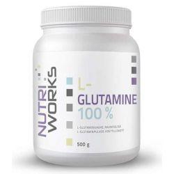 NutriWorks L-Glutamine 100%, 500 g