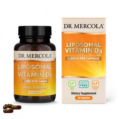 Vitamín D 1000 IU, liposomální, 30 kapslí