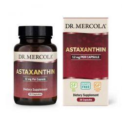 Organic Astaxanthin, 12 mg, 30 kapslí