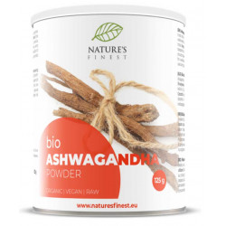Ashwagandha Powder 125g Bio, Nutrisslim