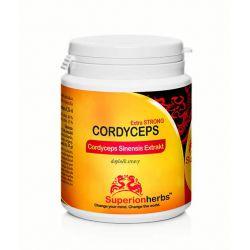 Cordyceps, Extrakt 40 % polysacharidů, 15 % manitolu, 90 kapslí