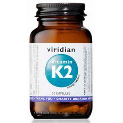 Vitamin K2 30 kapslí, Viridian