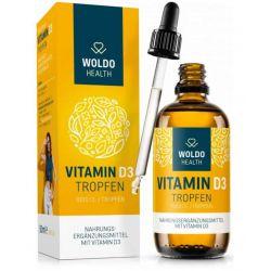 Vitamín D3 1000 IU kapky, 50 ml, 1750 kapek