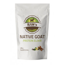 Raw´s NATIVE GOAT PROTEIN Elixir 480g