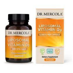 Vitamín D 5000 IU, liposomální, 30 kapslí