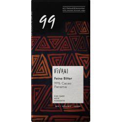 Vivani, Bio hořká čokoláda 99% s kokosovým cukrem 80 g