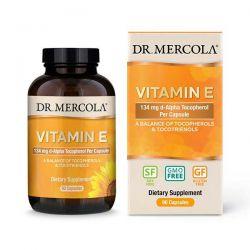 Vitamín E, 308 IU, 90 kapslí