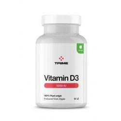Vitamín D3, cholekalciferol 1000IU, 90 kapslí