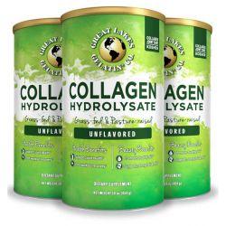 Kolagen hydrolyzovaný, bez příchuti, 3 balení, 1362 g