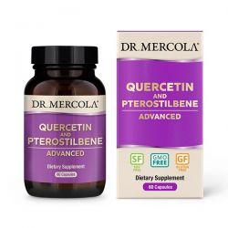 Quercetin, Pterostilben Advanced, 60 kapslí