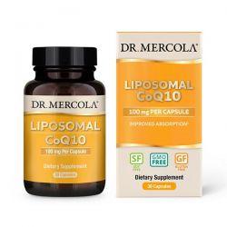 CoQ10, Ubiquinone, liposomální, 100 mg, 30 kapslí