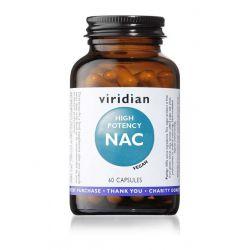 High Potency N-Acetyl-L-cystein, 600 mg, 60 kapslí