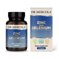Zinek 15 mg plus selen 200 mcg, 30 kapslí