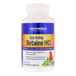 Betaine HCL 600 mg 120 kapslí