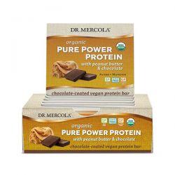 Organic Pure Power Peanut Butter Protein Bar, 12 kusů