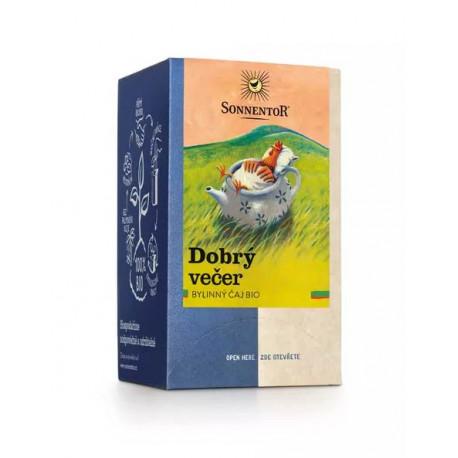 Sonnentor Dobrý večer čaj bio 27 g porcovaný dvoukomorový