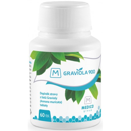 Graviola, 900 mg, 60 tablet, Medico Group