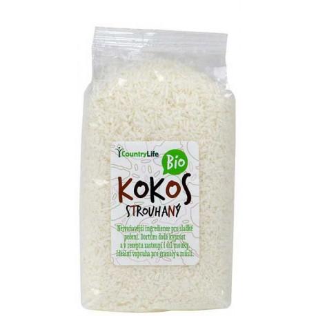 Kokos strouhaný 200 g BIO COUNTRY LIFE