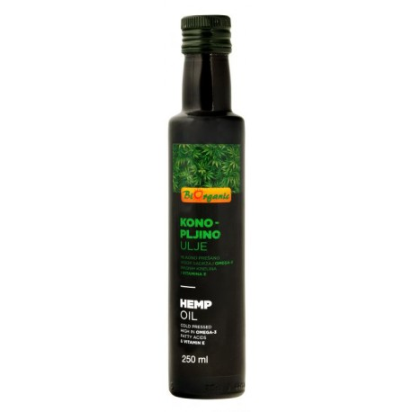 Olej konopný 250 ml BIO BIORGANIC
