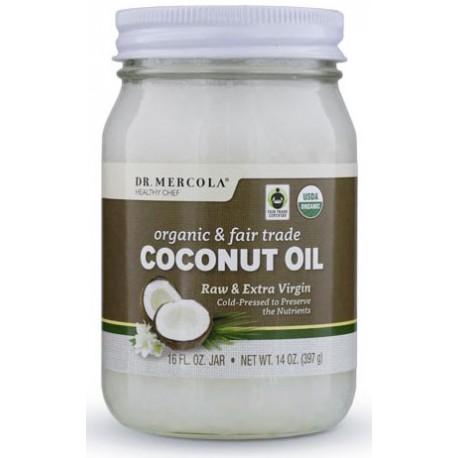 Kokosový olej panenský, Fair Trade BIO 397g