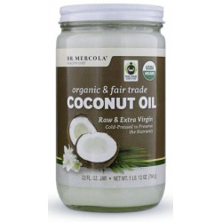 Kokosový olej panenský, Fair Trade 794g