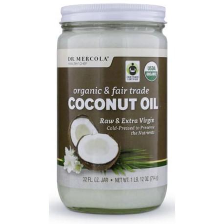 Kokosový olej panenský, Fair Trade BIO 794g