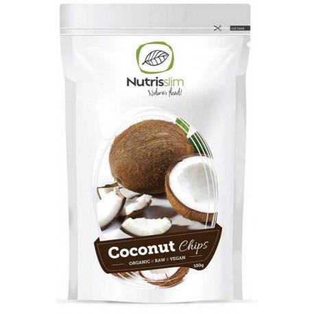 Kokosové chipsy 100 g BIO Nutrisslim