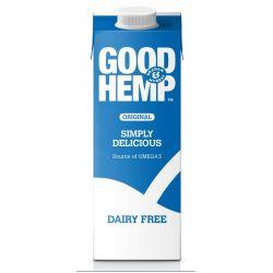 Good Hemp Milk 1l Original, konopné mléko