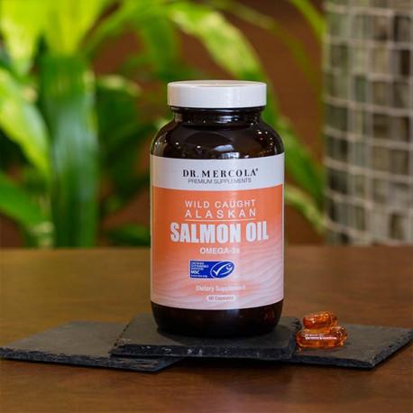 Lososový olej z divokého lososa 90 kapslí