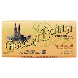 Bonnat Apotequil Porcelana 75%, 100g