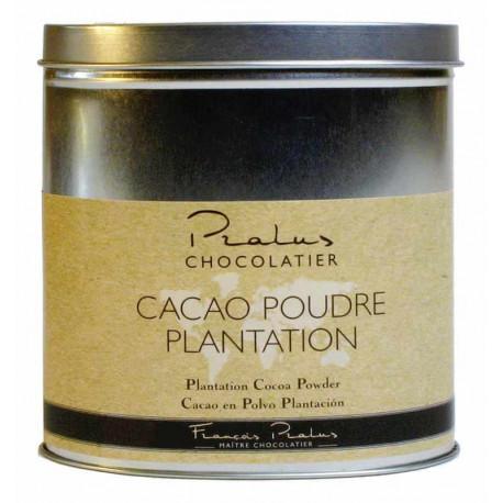 Kakao Francois Pralus 100% v plechové dóze