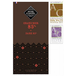 Michel Cluizel čokoláda Grand Noir 85%, 70g