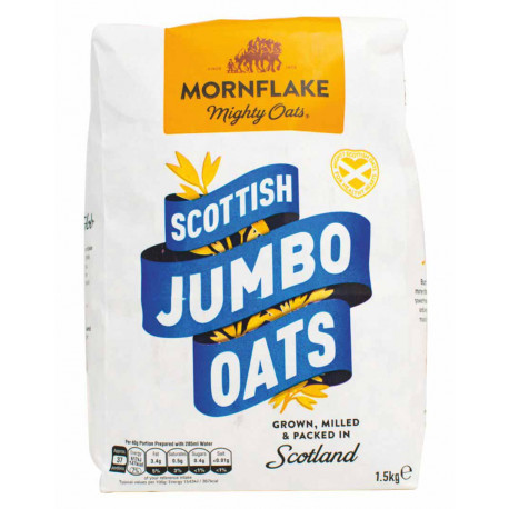 Vločky, Scottish Jumbo Oats 1,5kg