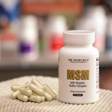 MSM, organický komplex síry 1000 mg, 60 tablet