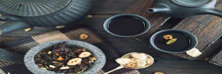 Čaje, koření, sůl