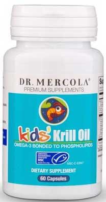 Kril olej pro děti