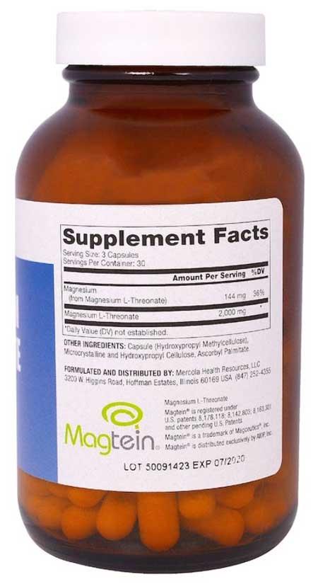 magnesium threonate Dr. Mercola