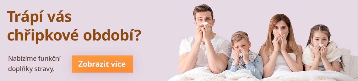 Trápí vás nachlazení?